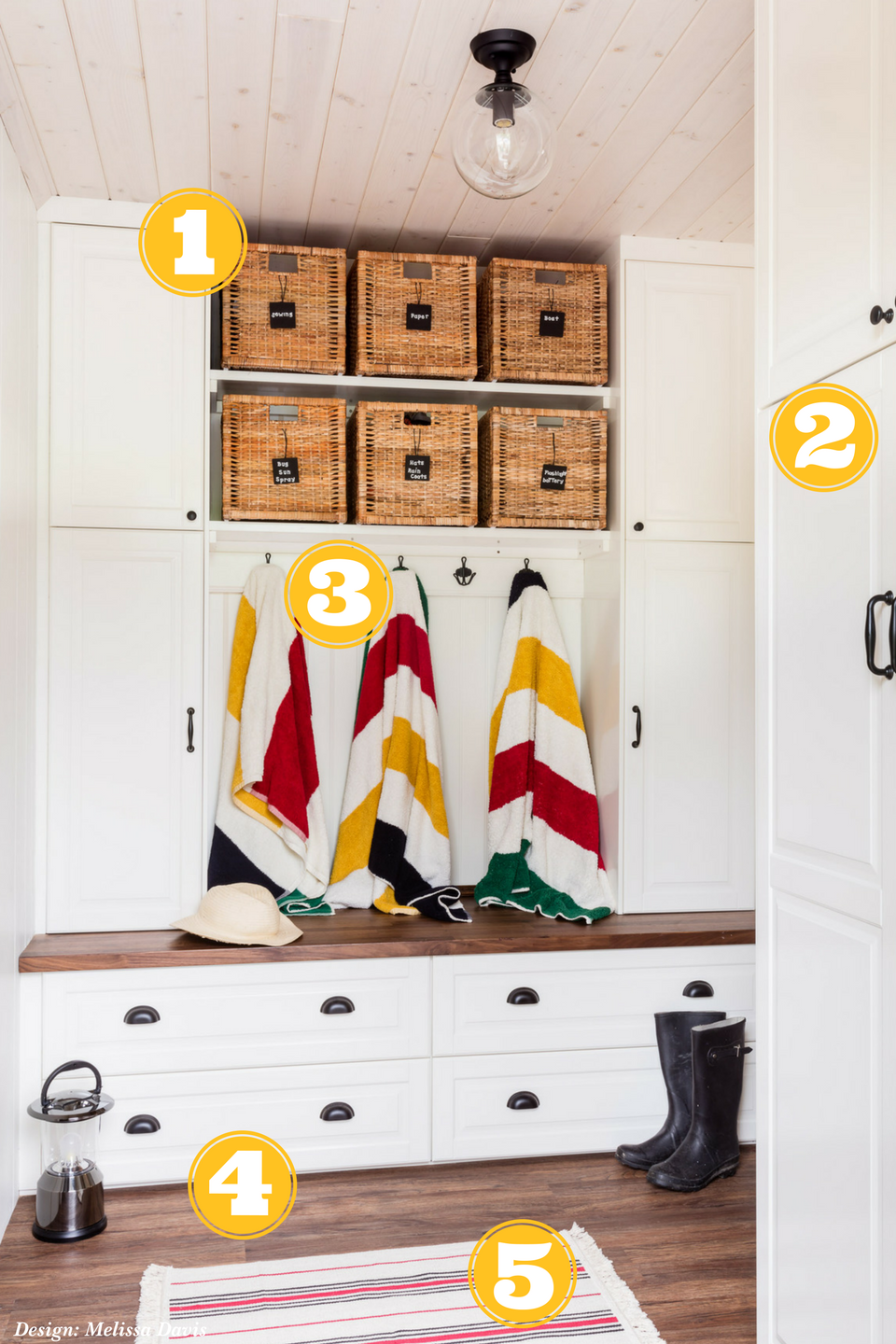 Melissa Davis Design, Entryway Organization, Mudroom Organization