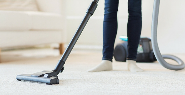 carpet cleaning and vacuuming